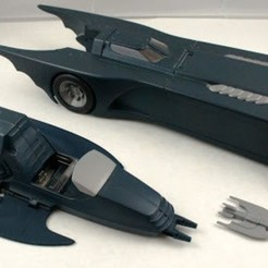 unnamed.jpg Download STL file KENNER BATMAN ANIMATED SERIES BATMOBILE BAT BOMB • Template to 3D print, StarForgeCustoms