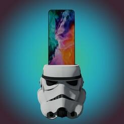1.jpg Télécharger fichier STL Quai téléphonique pour les stormtroopers (à usage personnel uniquement) • Plan pour impression 3D, StarForgeCustoms