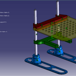 V finale CAO.png Download STL file ECU reprogramming table / remaping table • 3D printer model, Concept3Dstore