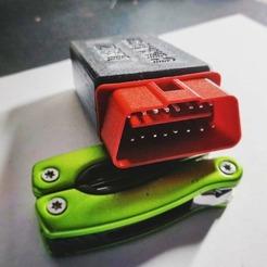 IMG_20201130_223451_374.jpg Download STL file OBD Male socket (ECU diagnostic/ system... recovery) • 3D printer model, Concept3Dstore