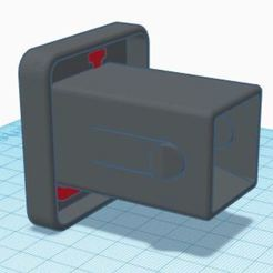 Download free STL file Hitch cover class I • 3D printing model, poontzy