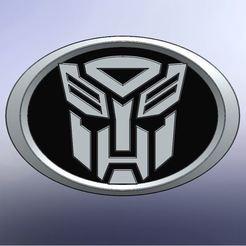 autobots logo.JPG Download STL file Scion Autobot Logo • 3D printing design, TexasPenguin
