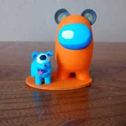 IMG-20201012-WA0009.jpg Download STL file Amongus pet dog • 3D printing object, DannyartZ