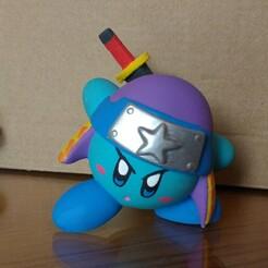 IMG_20210107_115151490.jpg Download STL file Kirby Ninja • 3D printer model, DannyartZ