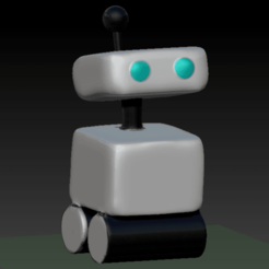 pet_robot.png Télécharger fichier STL Animal robot Amongus • Modèle imprimable en 3D, DannyartZ
