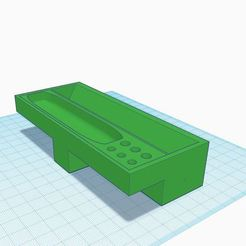 rolling tray v2.1.JPG Download free STL file Portable rolling tray V2 • Model to 3D print, cosmicraider
