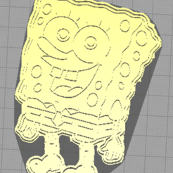 bob esponja foto.png Download STL file Sponge Bob Cookie Cutter Set • 3D printer object, JoaquiinM