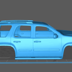 1.png Download STL file Chevrolet Tahoe 2010 • 3D printer object, uadiolex