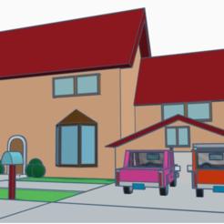 casa 1.png Télécharger fichier STL Simpson • Plan pour imprimante 3D, SIRIM_Academia