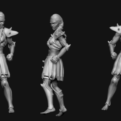 linewoman2.png Download STL file Amazon Linewoman - human Blood Bowl model - Bremusa's Blitz • 3D printer design, FITE