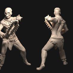 IMG_0059.JPG Télécharger fichier STL Nécromancien masculin • Design pour imprimante 3D, FITE