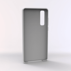 untitled.162.png Download STL file Huawei P30 TPU Case • 3D print object, Unikata3D