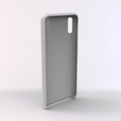 untitled.158.png Download STL file Huawei Y6 PRO 2019 TPU Case • 3D printable design, Unikata3D