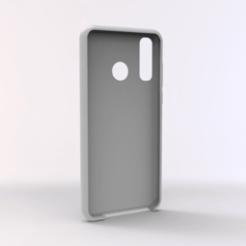untitled.161.png Télécharger fichier STL Affaire Huawei P30 LITE TPU • Plan à imprimer en 3D, Unikata3D