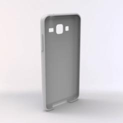 untitled.159.png Télécharger fichier STL Affaire Samsung Galaxy J3 2016 TPU • Modèle pour imprimante 3D, Unikata3D