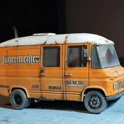 IMG_20200921_204820.jpg Télécharger fichier STL Mercedes Benz 408 508 608 Fourgon • Objet imprimable en 3D, TNT_Models