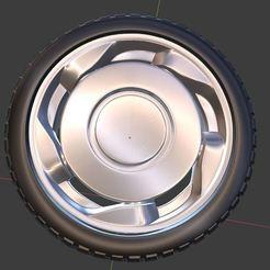 o1.JPG Télécharger fichier OBJ gratuit VW Classic Orbital Wheel et TIre pour les modèles moulés sous pression et RC 1/64 1/43 1/24 1/18 • Objet imprimable en 3D, TNT_Models
