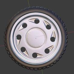 g0.JPG Télécharger fichier OBJ gratuit Roue et pneu classiques à larmes pour les modèles moulés sous pression et RC 1/64 1/43 1/24 1/18 • Modèle pour impression 3D, TNT_Models