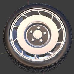 c1.JPG Télécharger fichier OBJ gratuit 1984 Roue et pneu de Corvette pour modèle moulé sous pression et RC 1/64 1/43 1/24 1/18 • Objet pour imprimante 3D, TNT_Models