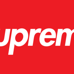 Supreme-Emblema.png Download free STL file LOGO SUPREME • 3D printing model, ignacioceronm