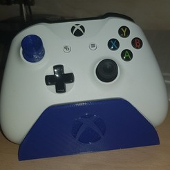 IMG-20200827-WA0001.jpeg Download free STL file Xbox One Controller Stand • Design to 3D print, salvatoredibaia