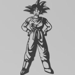 Gokuimagen1.JPG Télécharger fichier STL Figure Goku • Plan pour impression 3D, Igbras