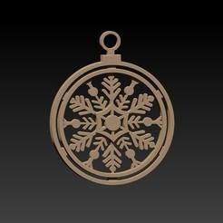 borla.jpg Télécharger fichier STL Décoration de Noël • Objet à imprimer en 3D, Igbras