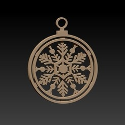 borla.jpg Download STL file Christmas ornament • 3D printing model, Igbras