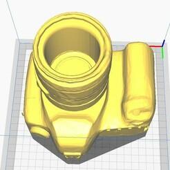 MateCamaraAntigua1.jpg Download STL file Antique Mate or Pot or Pen Camera • 3D printable model, maxielenviado
