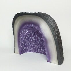 1610992829130.jpeg Download free STL file Amethyst geode • 3D print object, budinavit