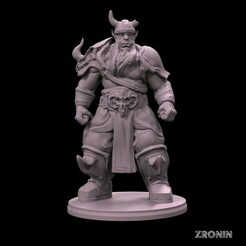720X720-2.jpg Download STL file Orc Warrior • 3D printer design, zroninprints