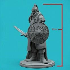 720X720-elft-render2.jpg Download STL file Elf Warrior • 3D printable template, zroninprints