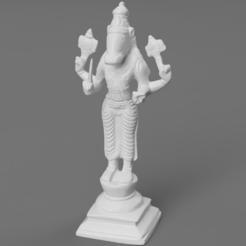 efbce8d2-76d6-4ccb-bd6a-8245853921c5.PNG Télécharger fichier STL gratuit Troisième avatar de Vishnu - Varaha (Le Sanglier) • Modèle à imprimer en 3D, ScanHinduHeritage