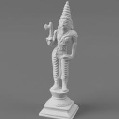 FThe_Sixth_Avatar_Parasurama_(The_Angry_Man)_SQ_2020-Nov-16_01-51-07AM-000_CustomizedView10561000448.png Télécharger fichier STL gratuit Sixième avatar de Vishnu - Parasurama (L'homme en colère) • Design imprimable en 3D, ScanHinduHeritage