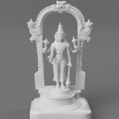 F005.Vishnu_brass_SQ_2020-Nov-15_05-54-42AM-000_CustomizedView1910902138.png Télécharger fichier STL gratuit Vishnu - Le conservateur • Objet pour impression 3D, ScanHinduHeritage