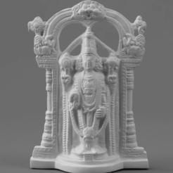 F011.LordVenkateswara_MQ_2020-Nov-15_06-39-46AM-000_CustomizedView10067815168.png Télécharger fichier STL gratuit Venkateswara - Destructeur de péchés • Modèle imprimable en 3D, ScanHinduHeritage
