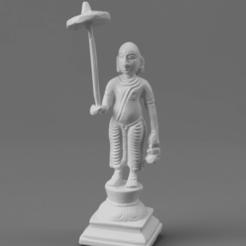 F031.The_Fifth_Avatar_Vamana_(The_Dwarf)_SQ_2020-Nov-16_01-51-24AM-000_CustomizedView11606638217.png Télécharger fichier STL gratuit Cinquième avatar de Vishnu - Vamana (Le Nain) • Design pour impression 3D, ScanHinduHeritage