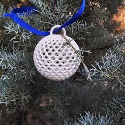 T4.jpg Télécharger fichier STL Boule de Noël • Design à imprimer en 3D, studiocode2