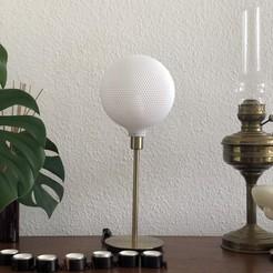 IMG_E3284.JPG Télécharger fichier 3MF Sphère Abat-jour pour lampe de table ou plafond • Modèle pour impression 3D, studiocode2