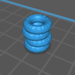 Single Tire.PNG Download free STL file Single Tire Barrier • Design to 3D print, gloomforge