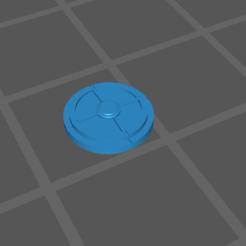 mine individual.PNG Download free STL file Gaslands Mine Template/Token • 3D printable object, gloomforge