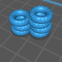 Télécharger fichier STL gratuit Double barrière de pneus • Modèle pour imprimante 3D, gloomforge