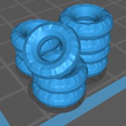 Triple Tire.PNG Download free STL file Triple Tire Barrier • 3D printable model, gloomforge