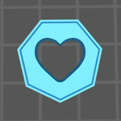 life.PNG Download free STL file Health/Life Tokens • Design to 3D print, gloomforge
