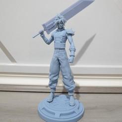 Download STL file Final Fantasy 7 Remake Cloud Strife • 3D printing template, timothytayag