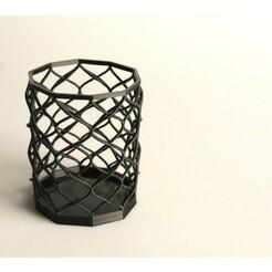 d2be63844bd77e68b4ecbf7074b90294_preview_featured.jpg Download STL file Helix penholder • Object to 3D print, josep_bv