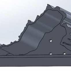 angled view.JPG Download STL file Virginia Flower / Succulent Pot • 3D print model, Vorx128