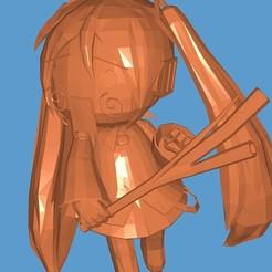 20200926_231626.jpg Télécharger fichier STL Hachune Miku • Modèle imprimable en 3D, LaureanoAlejandro