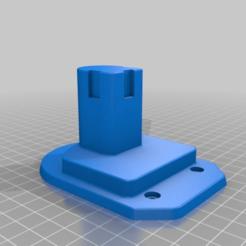 Download free STL file Select Mini Ryobi Tool Holder • 3D print template, derekdoesit