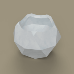 icosidodecahedron.png Download free STL file Archimedian solid pots • 3D printer design, K3has